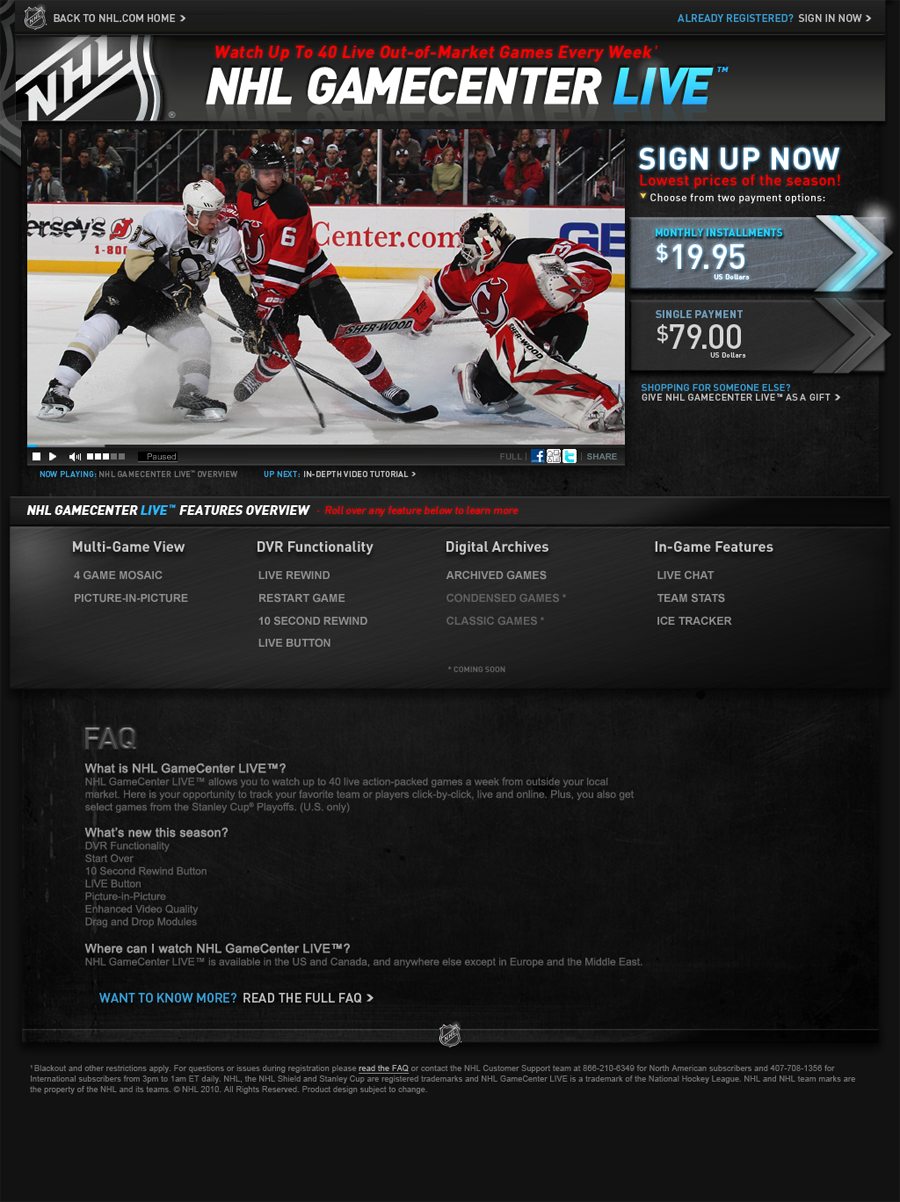 NHL GCL | 2010