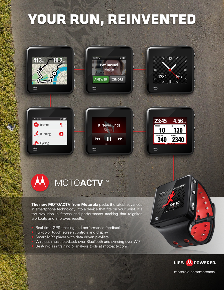 MotoACTV Ads | 2012