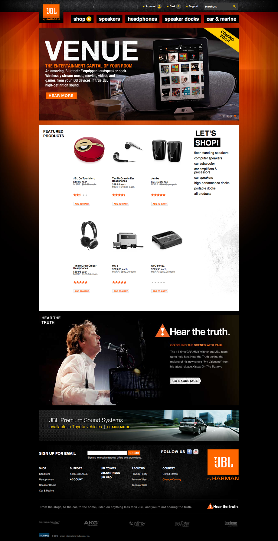 JBL.com | 2011