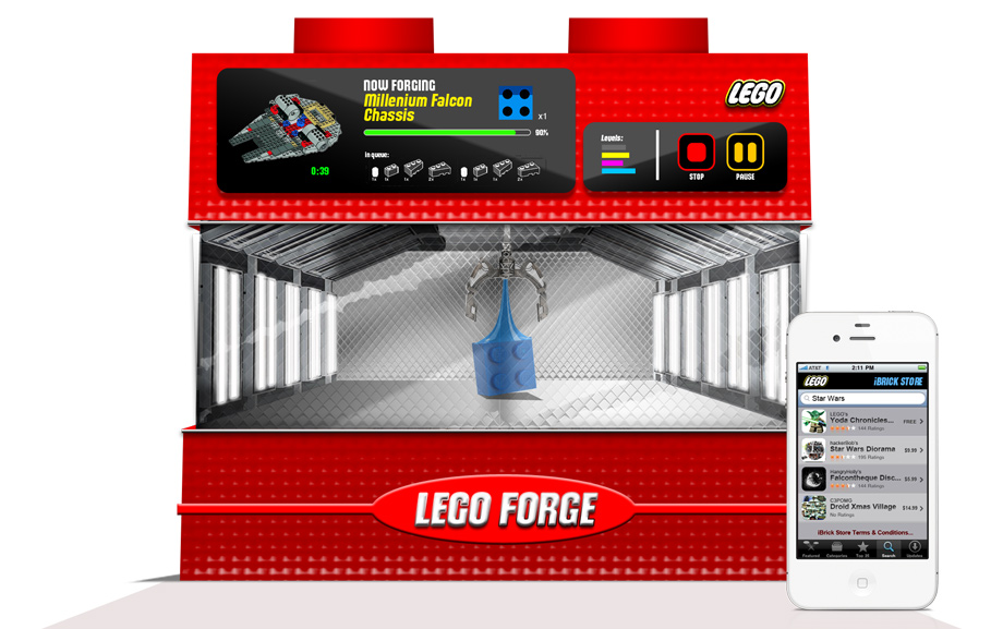 LEGO Forge Concept | 2013
