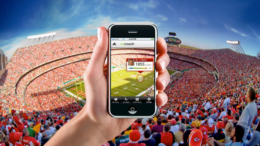 In-Stadium networks are becoming more powerful, and we anticipate opportunities like this to become commonplace once everything/everyone is wired at the game.